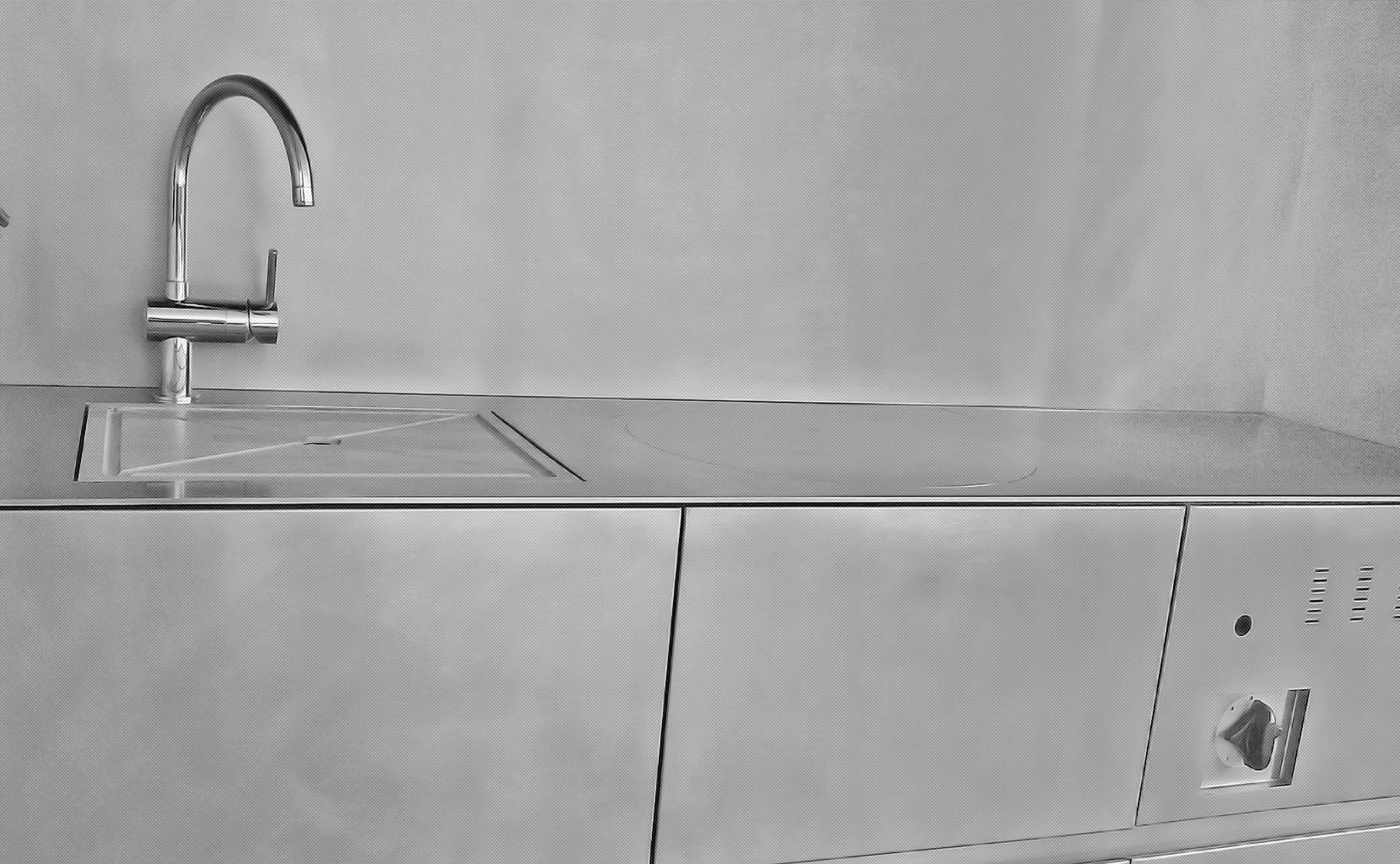 Inox Design Keukens : Keukens en werkbladen bk inox design in west vlaanderen de